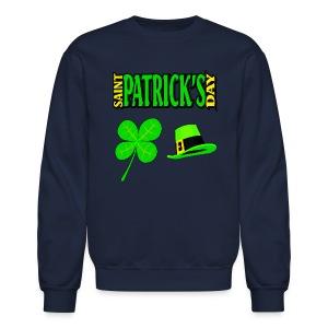 Happy Saint Patrick's Day Crewneck Sweatshirt For Men - Crewneck Sweatshirt