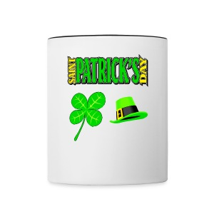 Happy Saint Patrick's Day Coffee Cup - Contrast Coffee Mug