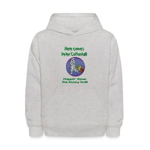 Peter Cottontail Easter Hooded Sweatshirt  For Kids - Kids' Hoodie