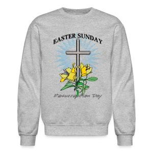Easter Sunday Crewneck Sweatshirt For Men - Crewneck Sweatshirt