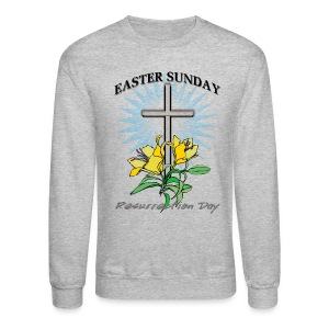 Easter Sunday Crewneck Sweatshirt For Men - Crewneck Sweatshirt