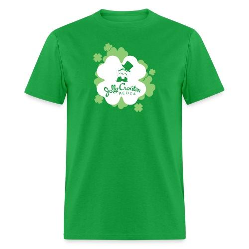 Jolly Crouton Media St. Patrick's Day Shirt - Men's T-Shirt