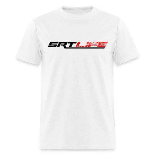 SRT:LIFE White Tee - Men's T-Shirt