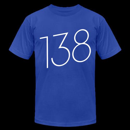 138 (White Text) - Male - Men's  Jersey T-Shirt