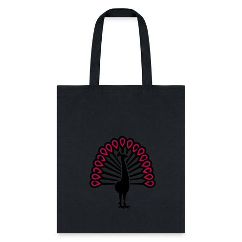 Peacock Handbag - Tote Bag