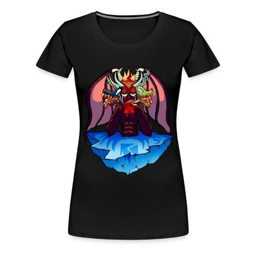 Canto XXXIV Female - Women's Premium T-Shirt