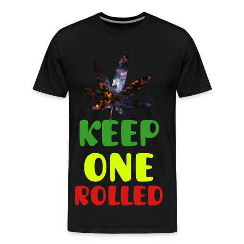 Men's Premium T-Shirt - weed,pot leaf,pot,marijuana,keep one rolled,joint