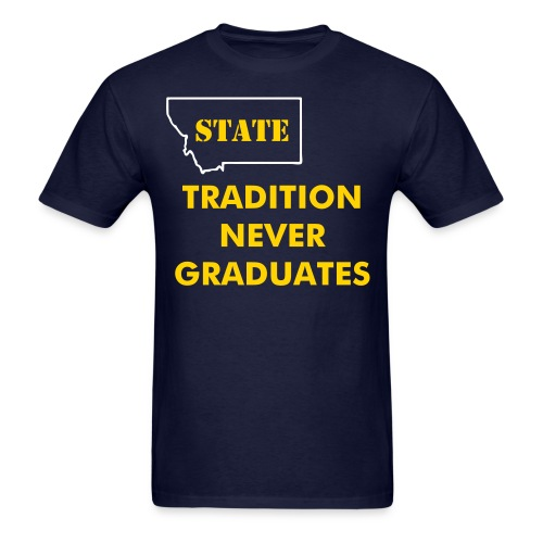 NEVER GRADUATE - Men's T-Shirt