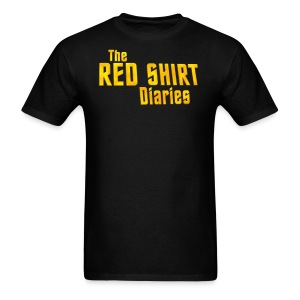 The Red Shirt Diaries Official T-Shirt - Men's T-Shirt