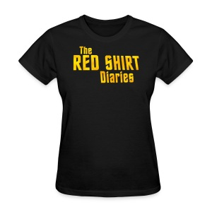 The Red Shirt Diaries Official T-Shirt (Women) - Women's T-Shirt