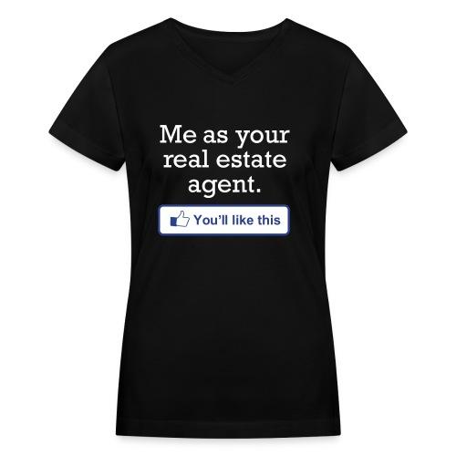 You'll LIke This V-Neck - Women's V-Neck T-Shirt