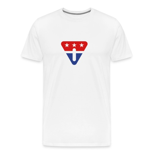 Independent political party logo tee for him - Men's Premium T-Shirt
