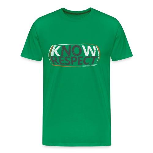 Know Respect - Men's Premium T-Shirt
