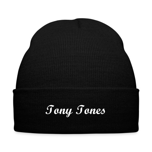 Tony Tones Beanie - Knit Cap with Cuff Print