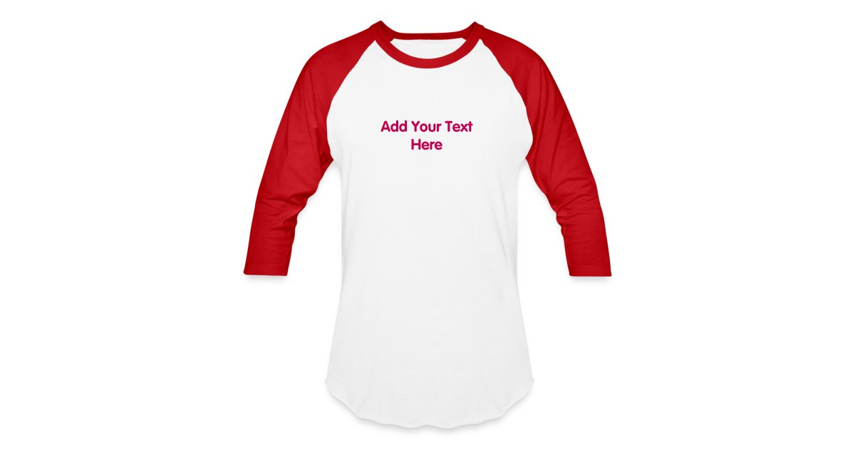 Personalized souvenirs mens baseball t shirt design for Customize your own baseball shirt