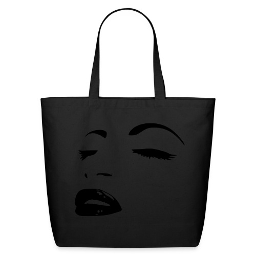 Womens Face Tote Bag - Eco-Friendly Cotton Tote