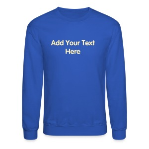Men's Crewneck Sweatshirt Designer Template - Crewneck Sweatshirt