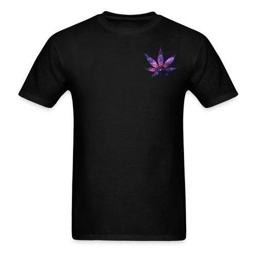 Galaxy leaf only front - Men's T-Shirt
