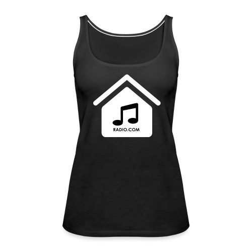HouseMusicRadio.com Women's Premium Tank Top - Women's Premium Tank Top