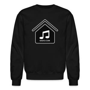 HouseMusicRadio.com  Men's Crewneck Sweatshirt - Crewneck Sweatshirt