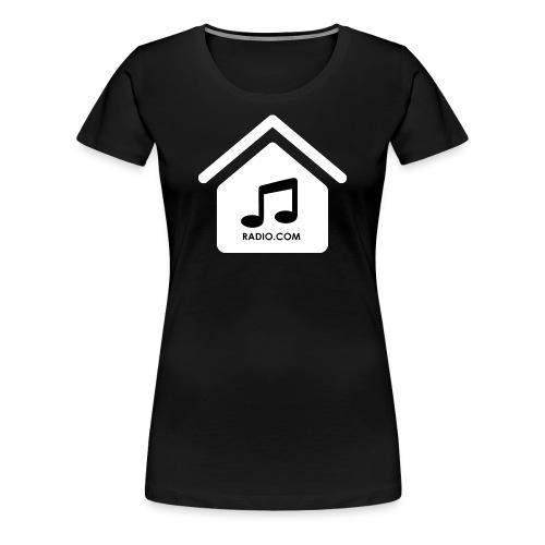 HouseMusicRadio.com Women's Premium T-Shirt - Women's Premium T-Shirt