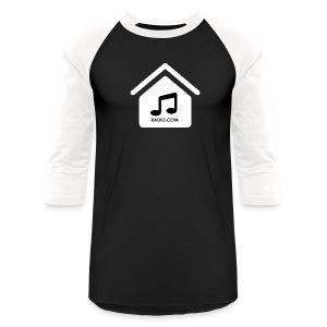 HouseMusicRadio.com Men's Baseball T-Shirt - Baseball T-Shirt