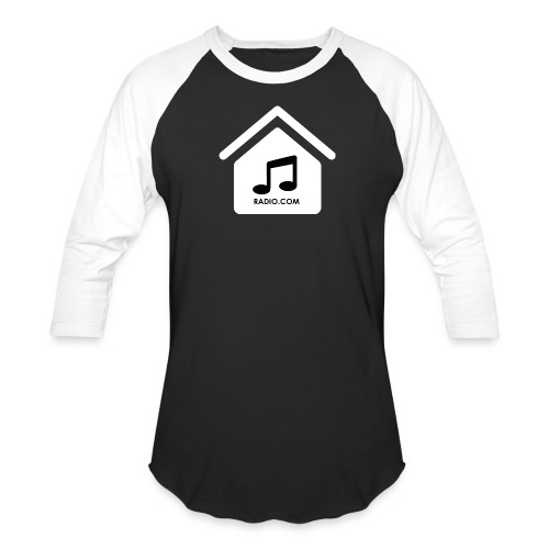 HouseMusicRadio.com Men's Baseball T-Shirt - Baseball T-Shirt