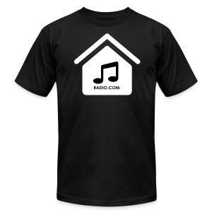 HouseMusicRadio.com Men's T-Shirt by American Apparel - Men's Fine Jersey T-Shirt
