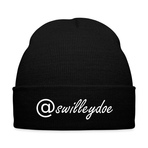 @swilleydoe Knit Cap - Knit Cap with Cuff Print