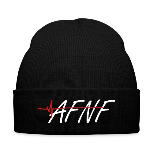 AFNF Beenie  - Knit Cap with Cuff Print