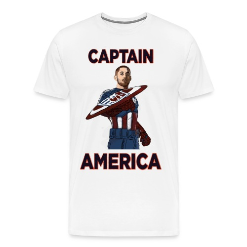 Captain America Clint Dempsey US Men's National Soccer Team - Men's Premium T-Shirt