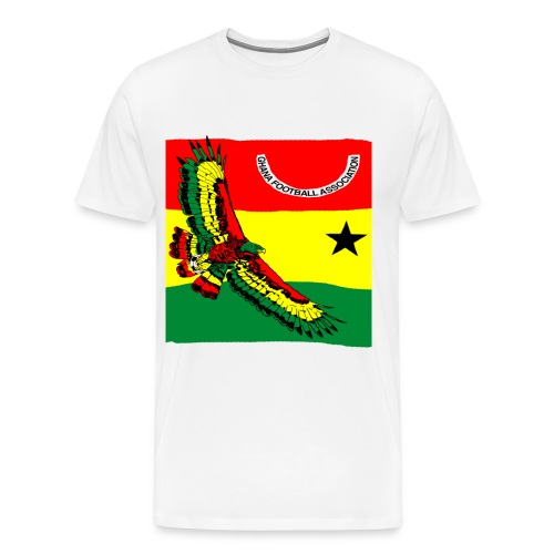 Ghana Quest for Brazil World Cup 2014 - Men's Premium T-Shirt