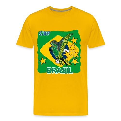 World Cup Brazil Soccer (Football) - Men's Premium T-Shirt