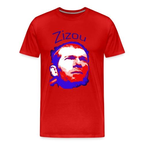 Zizou (Zinedine Zidane) - Men's Premium T-Shirt