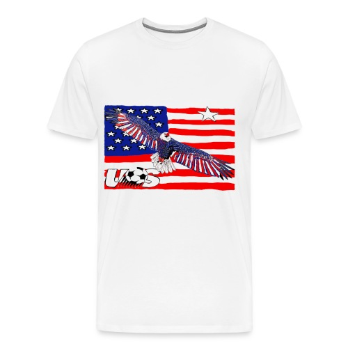 USA Quest for Brazil World Cup 2014 - Men's Premium T-Shirt