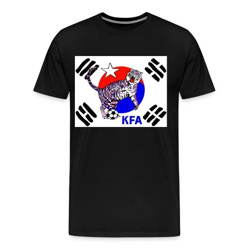 South Korea Quest for Brazil World Cup 2014 - Men's Premium T-Shirt
