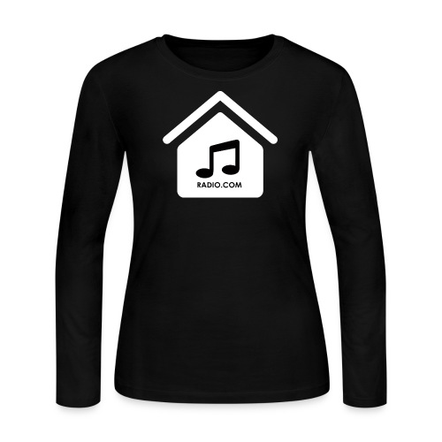 HouseMusicRadio.com Women's Long Sleeve Jersey T-Shirt - Women's Long Sleeve Jersey T-Shirt