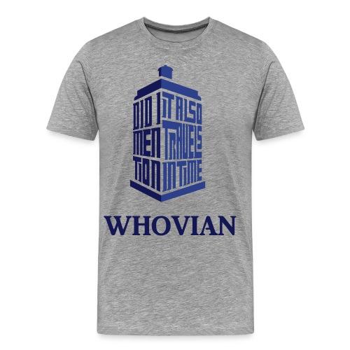 Whovian (MENS) - Men's Premium T-Shirt