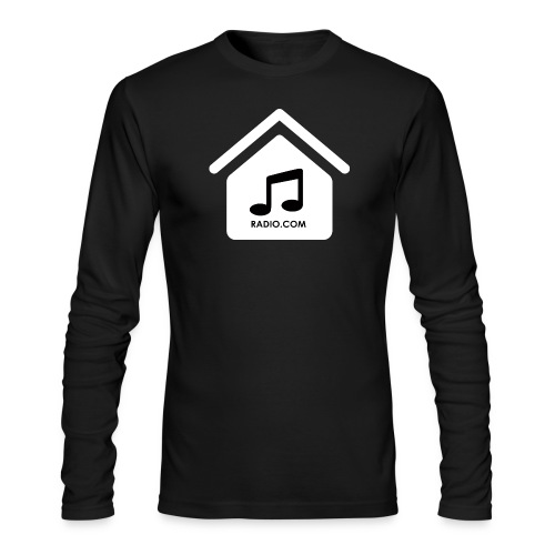 HouseMusicRadio.com Men's Long Sleeve T-Shirt by American Apparel - Men's Long Sleeve T-Shirt by Next Level