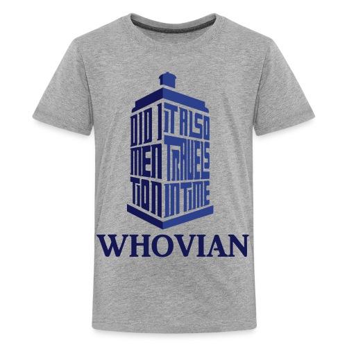 Whovian (KIDS) - Kids' Premium T-Shirt