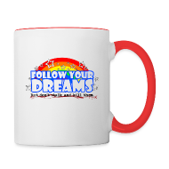 Mugs & Drinkware ~ Contrast Coffee Mug ~ Dreams Mug