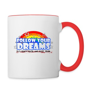 Dreams Mug - Contrast Coffee Mug