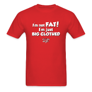 T-Shirts ~ Men's T-Shirt ~ I'm Not Fat - Men's Premium T