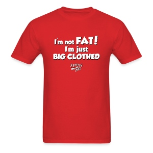 I'm Not Fat - Men's Premium T - Men's T-Shirt