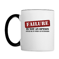 Mugs & Drinkware ~ Contrast Coffee Mug ~ Failure Mug