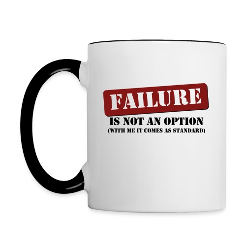 Failure Mug - Contrast Coffee Mug