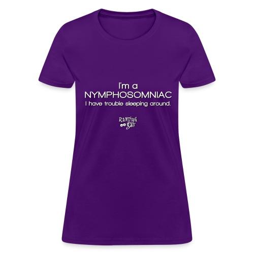 Nympho-somniac - Women's Standard T - Women's T-Shirt