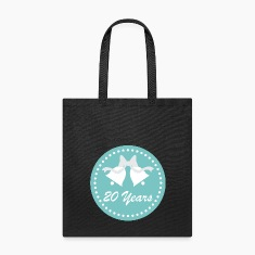 20th Anniversary Tote Bag Gift Idea