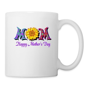 Happy Mother's Day Ceramic Beverage Mug - Coffee/Tea Mug