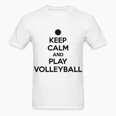 Keep calm and play volleyball T-Shirts